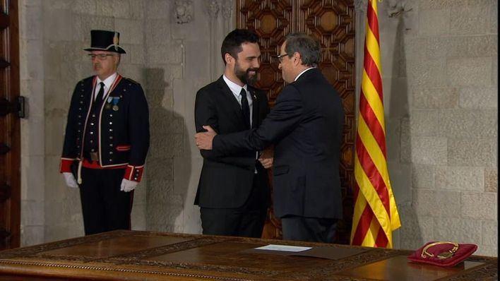 ERC da la puntilla a Torra y apoya su inhabilitación como diputado del Parlament