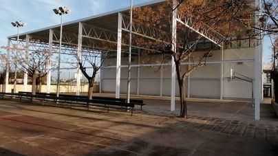 Marratxí finaliza las obras de una de las dos pistas polideportivas del Pla de na Tesa