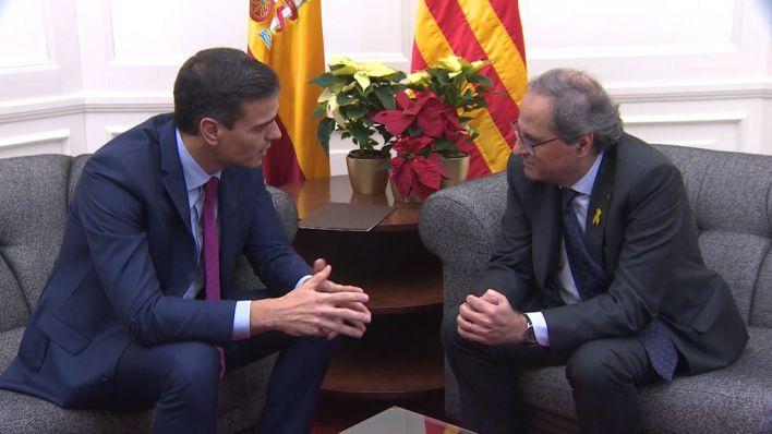 Ya hay fecha para la reunión Sánchez-Torra: el 6 de febrero, en Barcelona