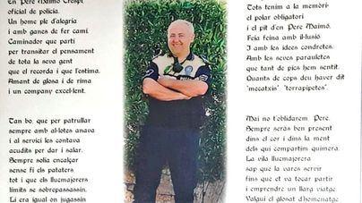 Llucmajor dedica una calle a Pere Maimó, policía local muerto en acto de servicio