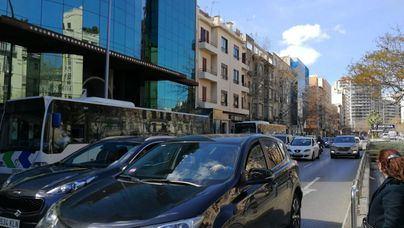 Palma, tercera ciudad española con más tráfico en 2019