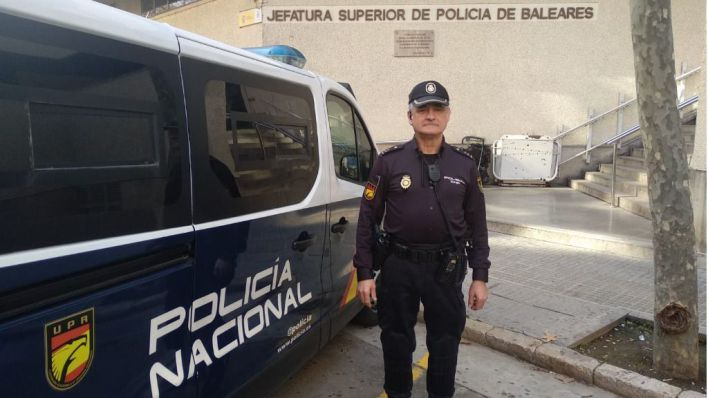 Se jubila Jaime Bergas, un mítico de la Policía Nacional de Palma