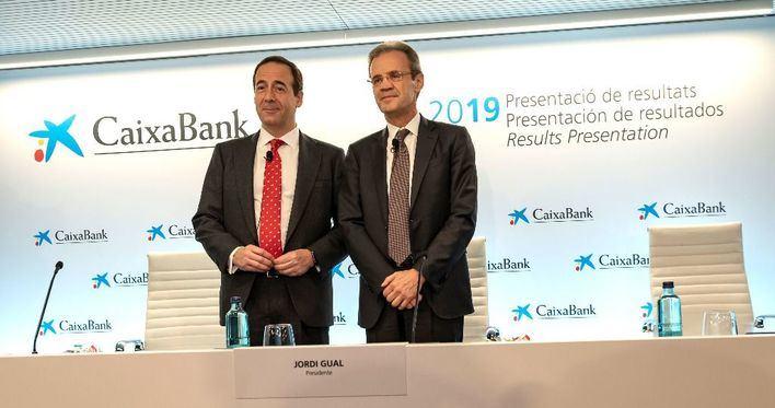 CaixaBank logra un beneficio de 1.705 millones en 2019