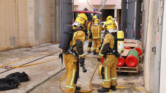 Endesa prueba la seguridad de sus instalaciones con un simulacro de emergencia