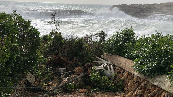 Santanyí cifra en 600.000 euros los daños de 'Gloria' en el municipio