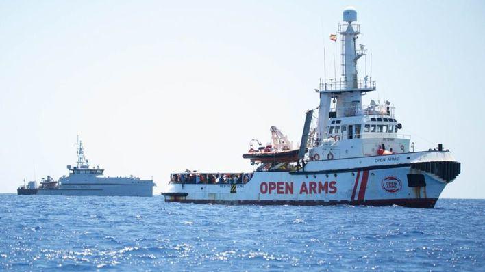 Govern, Consell y Cort piden un puerto seguro para el Open Arms
