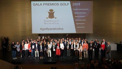 La Gala del Golf Balear celebra su vuelta al calendario internacional con el