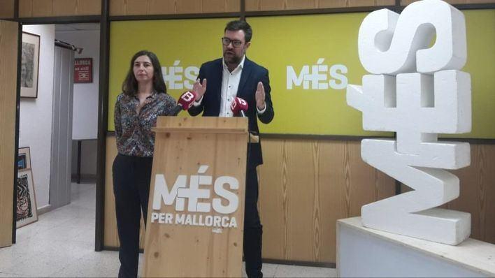 Més per Mallorca en contra de ampliar Son Sant Joan: