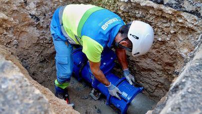 Unos 6.500 vecinos de Palma, sin agua debido a tres averías