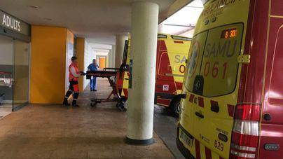 Tres personas heridas en el incendio de un piso en Palma