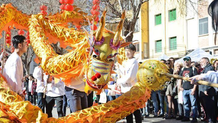 Pere Garau vibra con la celebración del Año Nuevo Chino