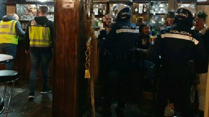 Localizados 31 menores en 4 locales de ocio nocturno inspeccionados en Palma