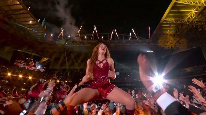 Shakira y Jennifer López la lían en la fiesta de la Super Bowl