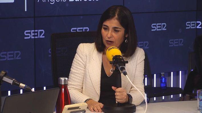 La ministra Darias no ve 'factible' que Hacienda devuelva el IVA de 2017 a las autonomías