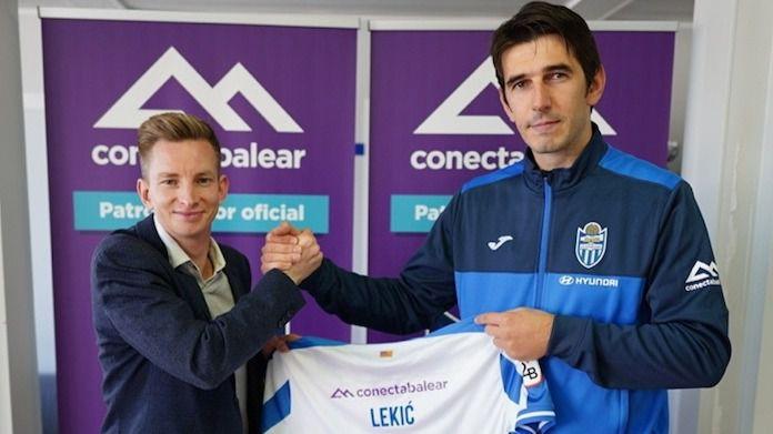 Lekic ya entrena con el Atlético Baleares tras siete meses sin competir