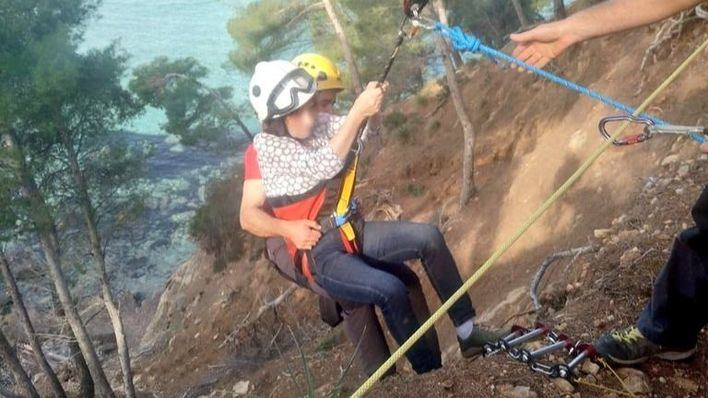 Rescatan a una pareja de excursionistas atrapados en la zona de Na Clara en Betlem