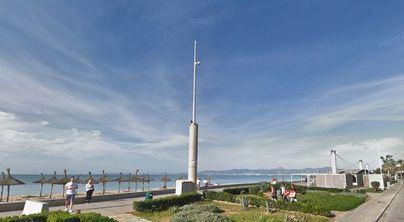 Nuevas cámaras de seguridad en Playa de Palma con dos años de retraso
