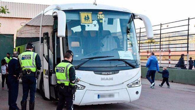 Campaña de vigilancia y control de vehículos destinados al transporte escolar