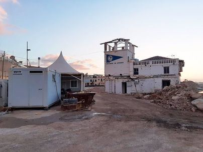 Seis meses de retraso en las obras del Club Marítimo del Molinar