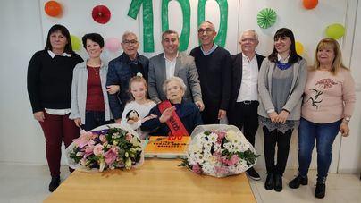 Inca rinde homenaje a Mercedes Arjona tras ingresar en el selecto club de los centenarios