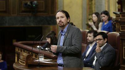 Cisma en Podemos por los aplausos de Iglesias al Rey en la sesión de inicio de legislatura