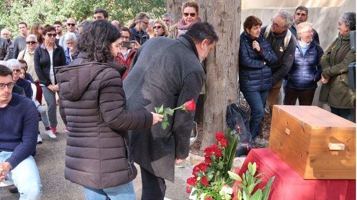 El Govern entrega a su familia los restos de Joan Ferrà tras ser localizados en una fosa común de Calvià