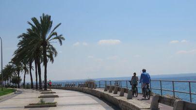 Lunes poco nuboso con máximas que superarán los 20 grados en Mallorca