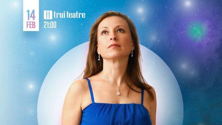 Gabriella Braun actúa el día 14 en Trui Teatre por San Valentín