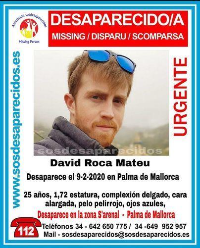 Localizado en buen estado el joven de 25 años desaparecido en Palma