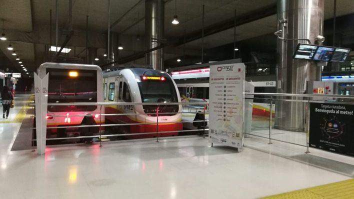 El metro de Palma gana un 21 por ciento de viajeros