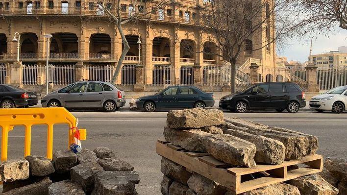 Arca exige a Cort parar con la eliminación de adoquines de piedra en la calle Arquitecte Bennàzar