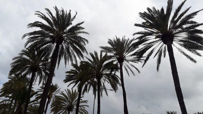 Cielos nubosos y bajada de temperaturas en Baleares