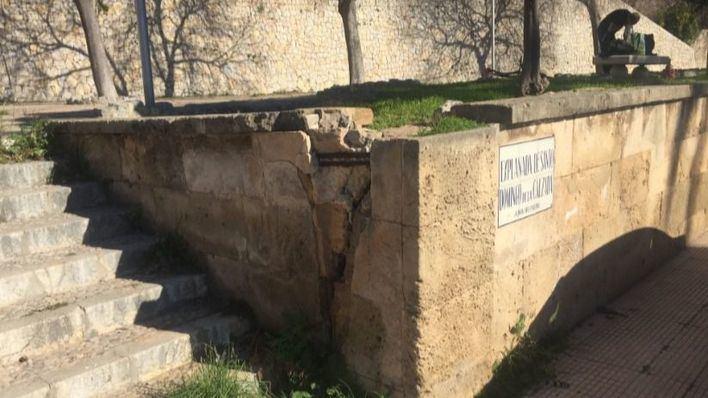 Restaurar las esculturas de Santo Domingo de la Calzada en el Paseo Marítimo cuesta 122.000 euros