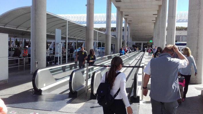 El Aeropuerto de Palma reduce un 2,2 por ciento sus viajeros en enero