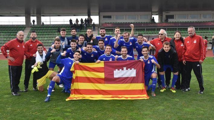 La selección balear de fútbol se clasifica para la 'final four' de la Copa de las Regiones