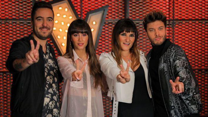 Aitana, Beret, Blas Cantó y Rozalén, asesores de 'La Voz Kids'