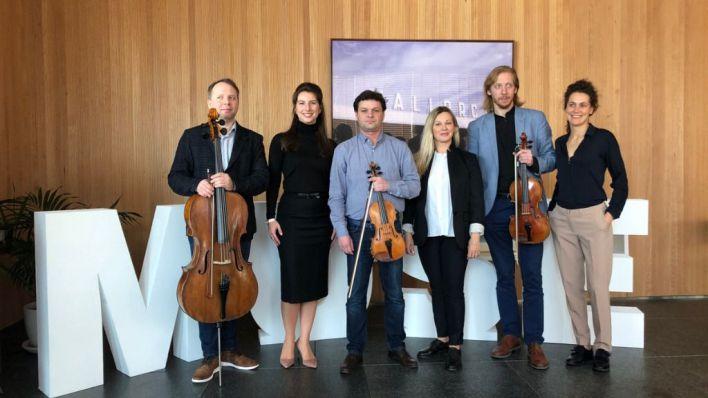 David Oistrakh String Quartet: 'Tocar en Palma es muy especial'
