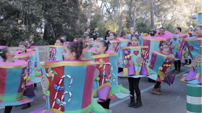 Color, imaginación y mucha diversión en la Rua de Marratxí