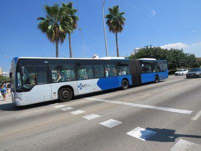 La marcha de coches contra la EMT amenaza con colapsar el centro de Palma
