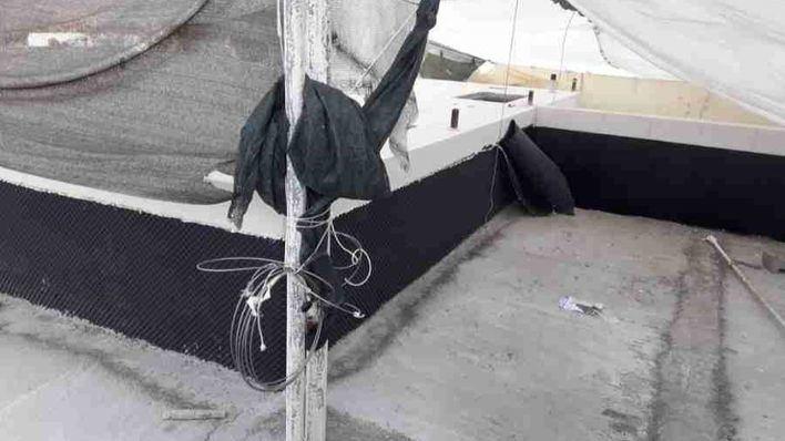 Paralizan las obras ilegales en un restaurante de Ibiza que trasformaba una piscina en habitaciones