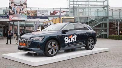 Sixt lidera la electrificación en el rent a car con el nuevo Audi e-tron