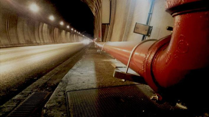 Un mes de restricciones nocturnas por obras en el Túnel de Sóller
