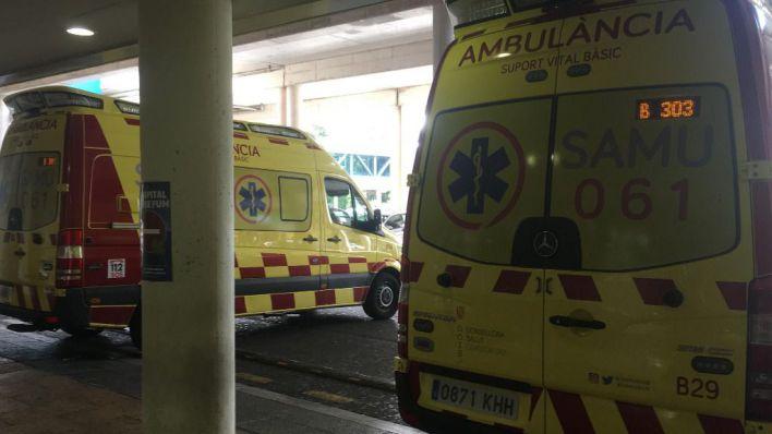 Herido grave un trabajador al caer desde un tejado en Alcúdia