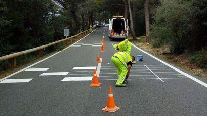 El Consell reduce a 50 kilómetros la velocidad en la carretera del Mirador de Ses Barques