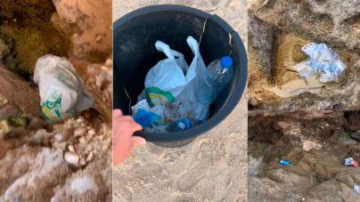 El 92 por ciento de la basura hallada en playas del Mediterráneo es plástico