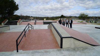 El skate de Galatzó ofrecerá 1.500 metros cuadrados para el patinaje desde el 14 de marzo