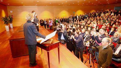 Calvo promete 'poner la Constitución al servicio de los más débiles'