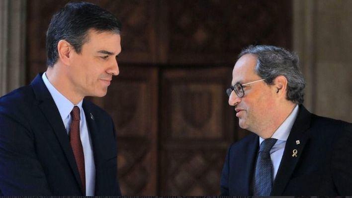 Torra rechaza la propuesta de Sánchez de reunir la mesa de diálogo el próximo lunes
