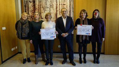 Calvià entrega 6.215 euros a Asperger y Sonrisa Médica