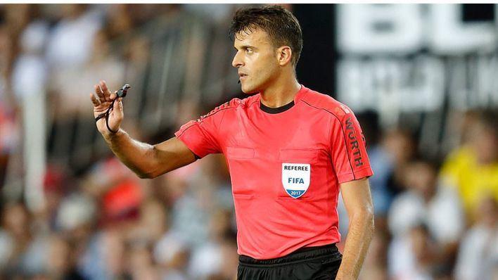 Gil Manzano arbitra al Mallorca ante el Betis siete jornadas después de la 'masacre' frente al Sevilla